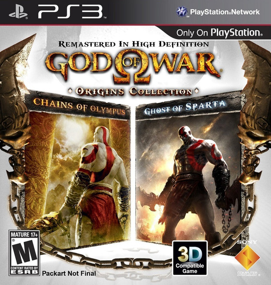 God Of War Origins Collection Ps3 Classico Psp Para Play 3