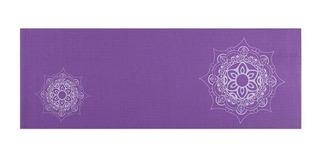 Tapete De Yoga Premium Estampa De Mandala Roxo Atrio Es219