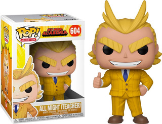 Funko Pop My Hero Academia All Might Teacher 604 Original