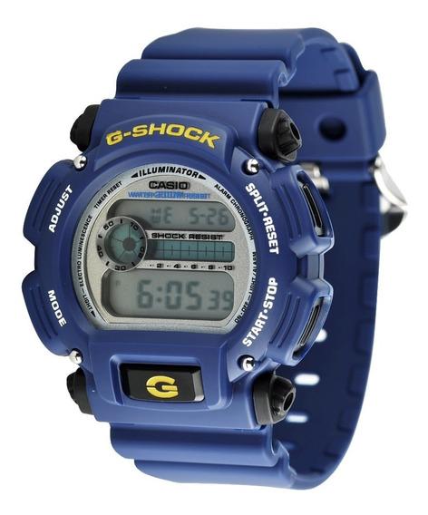 Relógio Casio G-shock Masculino Azul - Dw-9052-2dvr