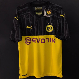 Camisa Bvb Borussia Dortmund Champions 19/20 Pronta Entrega
