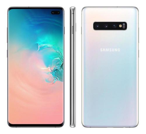 Celular Samsung Galaxy S10 128gb 16mp 8gb Ram Vitrine Na Cx