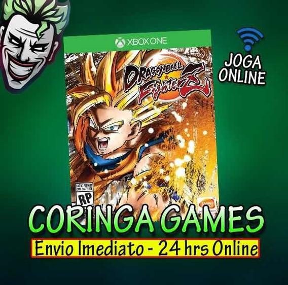 Dragon Ball Fighterz -xbox One Mídia Digital + 2 Brindes