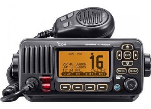 Radio Icom Ic-m324 Marina 25w Vhf   Fija / Móvil