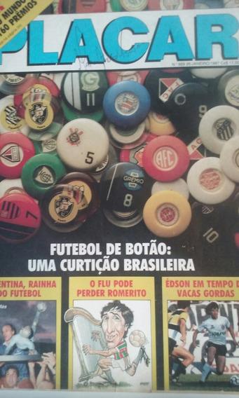Revista Placar N 869 Rara Em Bom Estado