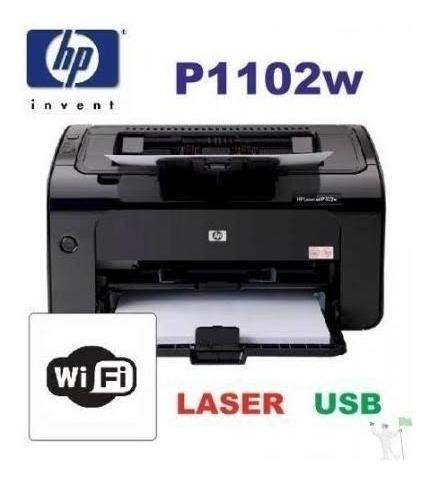 Impressora Hp Laserjet P1102w C/ Wifi Revisada 3 Toner Novo