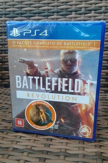 Bf1 Ps4 Battlefield 1 Revolution Português Mídia Física Novo
