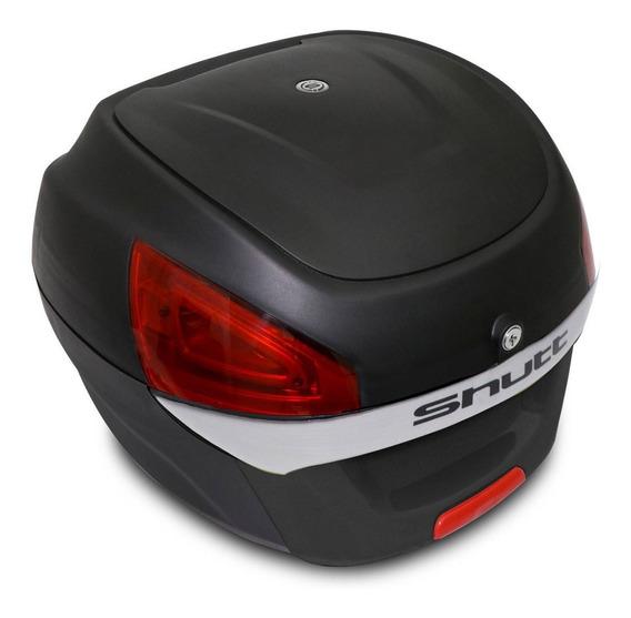 Baú Bauleto Bagageiro Moto 29 Litros Universal Preto Shutt