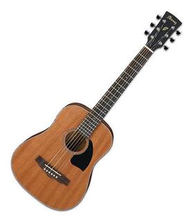Guitarra Acústica Metálica Ibanez Pf2mh Tamaño 3/4 Con Funda