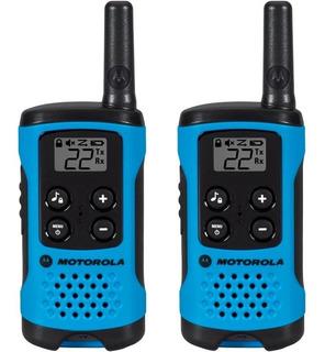 Rádio Comunicador Motorola Talk About T100br Azul - 25 Km