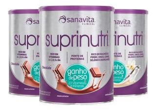 Kit 3 Suprinutri (ganho De Peso) - 400 Gramas - Sanavita