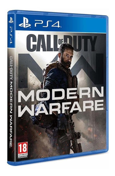 Call Of Duty Modern Warfare Ps4 Mídia Física Português Novo
