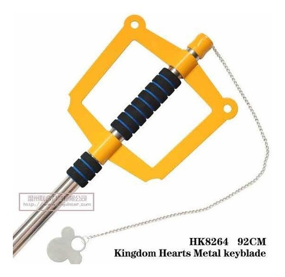 Keyblade - Kingdom Hearts - Espada Chave - Anime - Manga