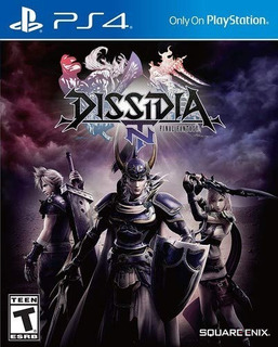 Dissidia Final Fantasy Nt - Digital - Ps4 - Manvicio