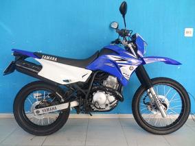 Xtz 250 Lander 2008 Azul Moto Impecavel!!!! Revisada !!