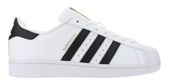 Tenis adidas Originals Superstar Negro/blanco - C77124