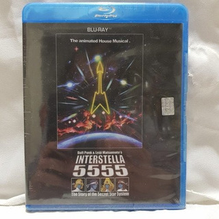 Daft Punk Interstella 5555 The 5tory Of Bluray Nuevo Sellado