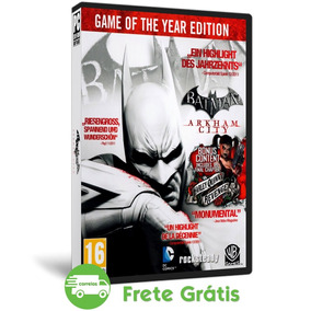 Batman Arkham City Pc Game Of The Year Edition Mídia Física