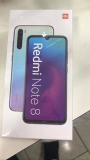 Redmi Note 8 64 Gb Preto Lacrado