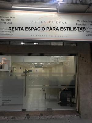 Salon De Belleza Renta Espacio A Estilistas, Colonia Napoles