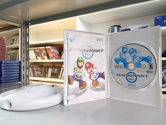 Mario Kart Wii + 1 Volante - Nintendo Wii Usado