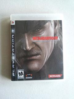 Metal Gear Solid 4 Guns Of The Patriots Para Ps3 Usado