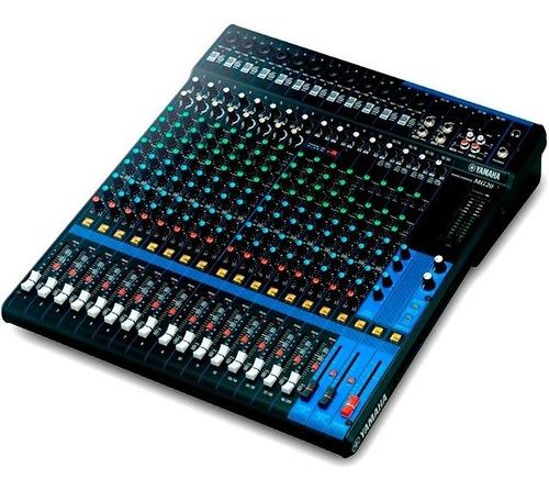 Consola Yamaha Mg20 20 Canales Nueva Garantia Cuotas