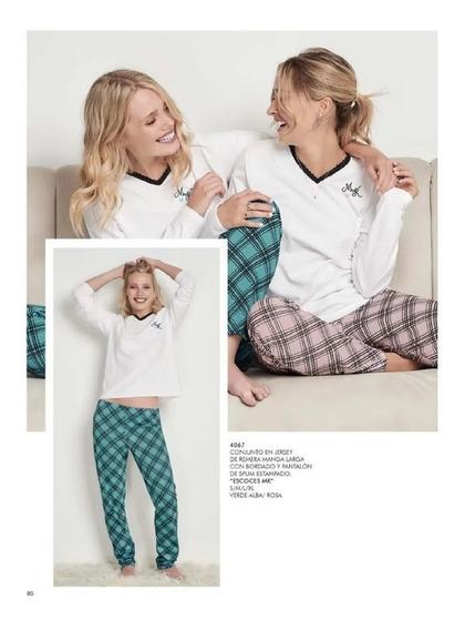 Pijama Marcela Koury M/larga Art. 4067 Tutim