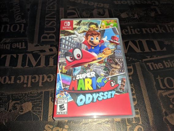 Super Mario Odyssey !!! Mídia Física !!! Nintendo Switch !!!
