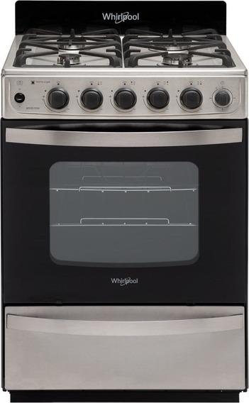 Cocina 56cm Wfx57di 4 Hornallas Ix Whirlpool