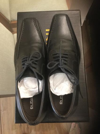 Sapato Masculino Em Couro Di Pollini