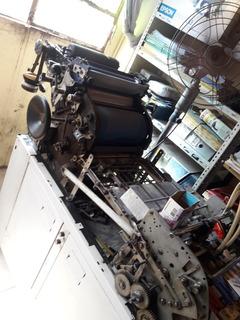 Máquina Offset. Imprime Doble Carta