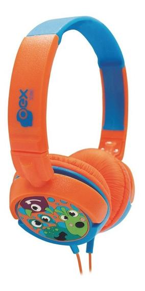 Fone De Ouvido Boo Kids Criança Hp301 Oex Headphone Infantil