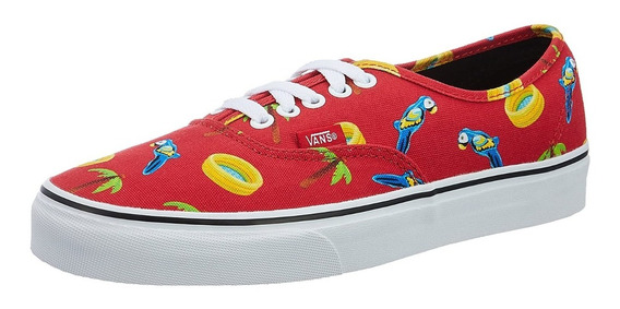 Zapatillas Vans Authentic Pool Vibes Red