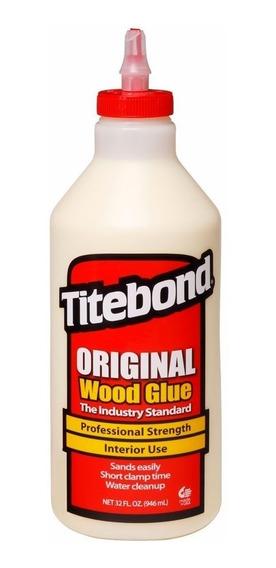 Cola Para Madeira Original Wood Glue 946 Ml Titebond