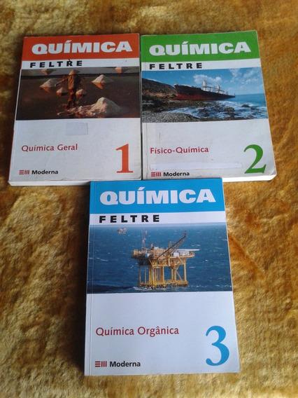Coleção Química ( Ricardo Feltre ) !!!