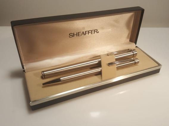 Sheaffer Targa 1001 Pluma Y Bolígrafo Usa - Parker Montblanc
