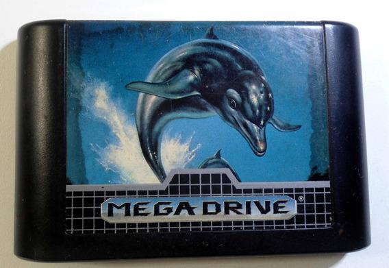 Ecco The Dolphin Mega Drive Cartucho Original Frete Grátis