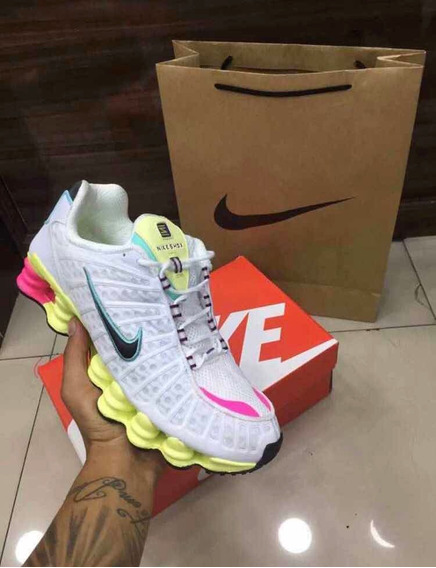 Tênis Nike Shox Tl 12 Molas Original Foto Real Pronta Entreg