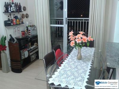 Apto 51m² Próximo Ao Shopping Internacional - Apartamento A Venda No Bairro Itapegica - Guarulhos, Sp - Sc00309