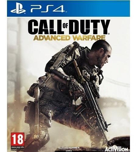 Call Of Duty Advanced Warfare Ps4 Mídia Física Em Inglês