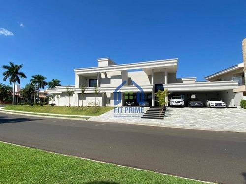 Casa Com 5 Dormitórios À Venda, 520 M² Por R$ 3.790.000,00 - Parque Residencial Damha - São José Do Rio Preto/sp - Ca2311