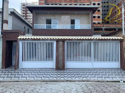 Imagem 1 de 12 de Casa De Condomínio Nova À Venda Lado Praia Na Ocian, Aceita Financiamento Bancário!!! - Ca0260