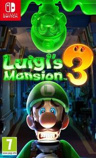 Luigi Mansión 3 Físico Nintendo Retira Por Capfed