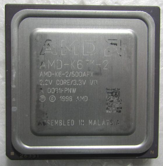 Processador Amd K6-2 500 Mhz (usado)
