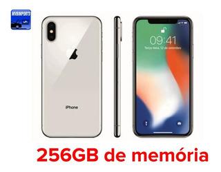 iPhone 8 256 Gb Silver Prata Vitrine Na Caixa Novo