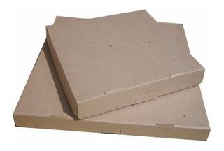 50 Cajas Para Pizza 35x35+4 De Carton Cafe
