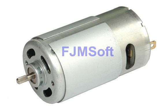 Motor 12v 9500rpm Shr555 Impressora Cnc Spindle Retífica 3d
