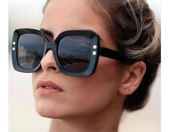 Óculos De Sol Gucci Quadrado Feminino 0224