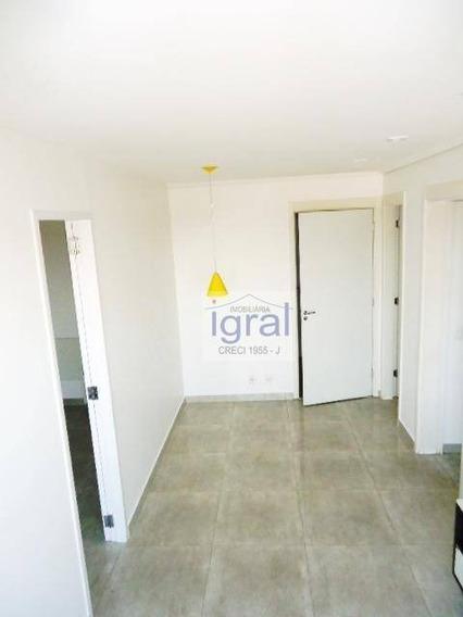 Apartamento Com 1 Dormitório Para Alugar, 60 M² Por R$ 1.700,00/mês - Vila Do Encontro - São Paulo/sp - Ap0047
